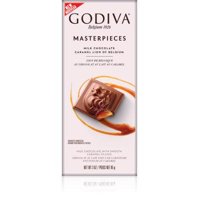 Godiva Masterpieces Caramel Lion Of Belgium Milk Chocolate - 3oz