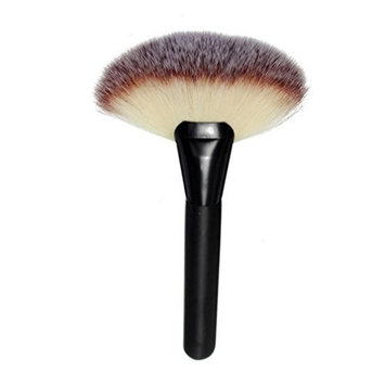 AutumnFall Makeup Large Fan Goat Hair Blush Face Powder Foundation Cosmetic Brush