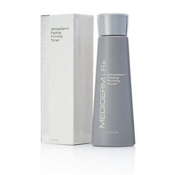MediDerm WhiteDerm Facial Firming Skin Toner- Cleans Skin & Fades Dark Spots