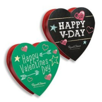 Russell Stover Assorted Chocolates Chalkboard Heart, 1.75 oz.