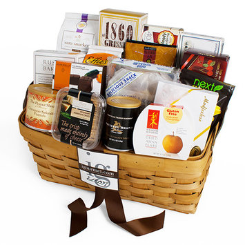 Gourmet Snacking For The Gang Gift Basket