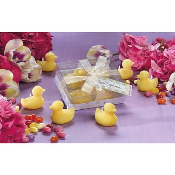 4pc Mini Chick Candle Set