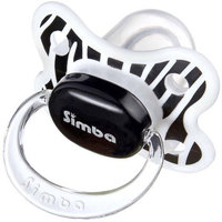 Sonison Simba P18011 Zebra Stripes Pacifier, 6 Months and Up