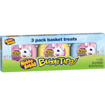 Hubba Bubba Easter Bubble Gum Tape, 3-Pack
