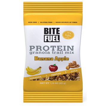 Bite Fuel Llc Bite Fuel, Protein Granola Trail Mix, Bananas and Apples, 1.5 Oz