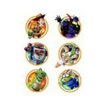 Toy Story Game Time Temporary Tattoos (2 Sheets)