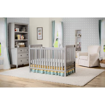 Delta Children's Products Waves 3-in-1 Fixed-Side Crib Gray
