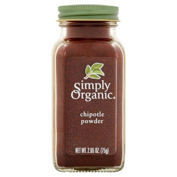 Frontier Co-op Simply Organic, Spice Chipotle Powder Bottle, 2.65 Oz (Pack Of 6)