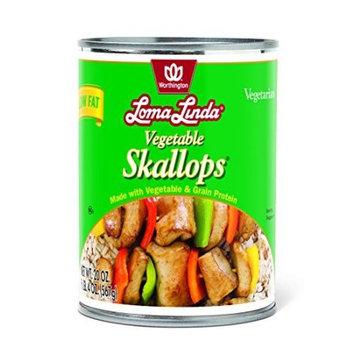 LOMA LINDA 258669 20 oz. Vegetable Skallops