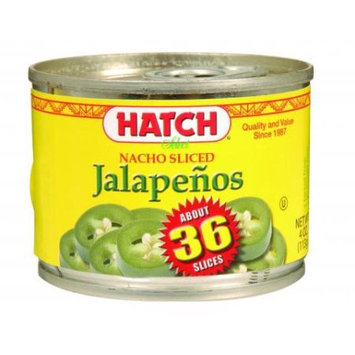 Hatch Chili Sliced Nacho Jalapenos In Can (Pack of 12)