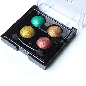 Eyeshadow,Jinjin 4 Color Pearl Glitter Eye Shadow Powder Palette Eyeshadow Cosmetic Makeupp