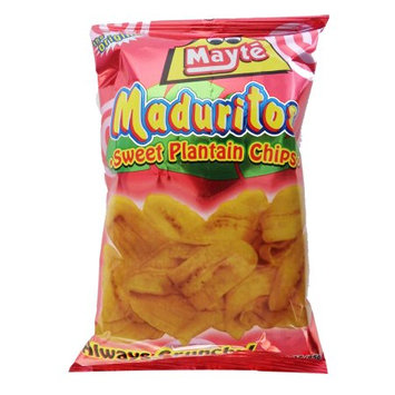 Mayte Sweet Plantain Chips 3 oz (Pack of 6)