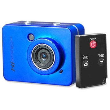Pyle Sports PSCHD60 Full HD 1080P Action Camera/Camcorder, 12MP, 4x Digital Zoom, 2.4