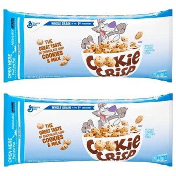 Cookie Crisp Cereal, Chocolate Chip, 35 Oz Bag (Pack of 2)