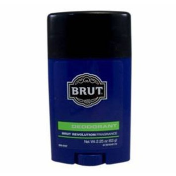 Brut Revolution Deodorant Stick 2.25 oz. (Pack of 6) by Sittiyakul