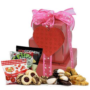 GlutenFreePalace.com My Sweetheart! Large 2-pound Gluten Free Gift Tower