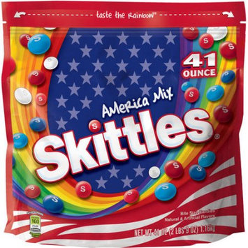 Wrigley America Mix Skittles Candy, 41 oz