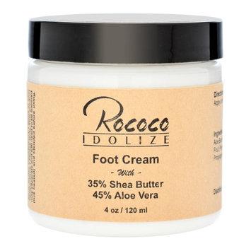 Rococo Idolize Foot Cream with Shea Butter and Aloe Vera