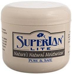 SuperLan Kosher Nature's Natural Moisturizer Skin Cream Lite - 4 OZ
