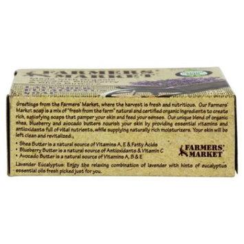 Farmers' Market Natural Bar Soap Lavender Eucalyptus, 5.5 Ounce