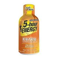 5 Hour Energy, Extra Strength Peach Mango, 24 Count [Extra Strength Peach Mango]