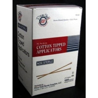 Value-Pack 3,000 x 3 (Inches) Cotton-Tipped Applicator / Cotton swab / Q-Tips by PCDS