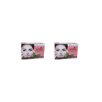 Biotique Party Glow Facial Kit - For Instant Glow (Pack of 2)