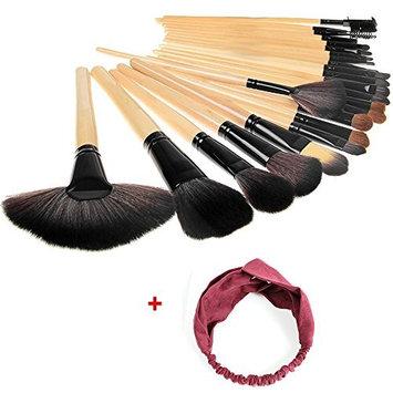 Generic 24PCS makeup brush set