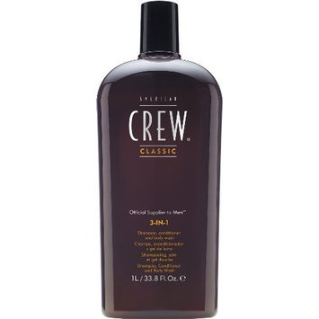 American Crew 3-IN-1 33.8oz/1000ml