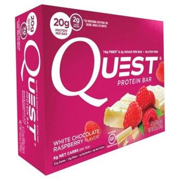 Quest Protein Bar, White Chocolate Raspberry, 20g Protein, 4 Ct