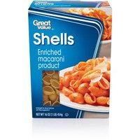 Great Value: Shells Pasta, 16 oz