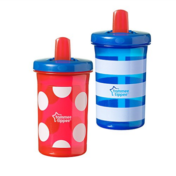Tommee Tippee TOMMEE TIPPE 2PK 10OZ FREE FLOW SPOUT CUP