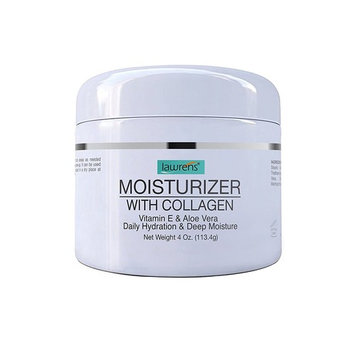 Moisturizer with Collagen, Vitamin E & Aloe Vera - Daily Hydration & Deep Moisture - 4 oz