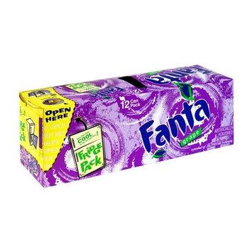 Fanta Grape Soda, 12 Ounce (12 Cans)