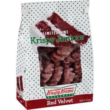 Krispy Kreme Doughnuts Krispy Kreme Red Velvet Krispy Juniors Doughnuts, 12 oz