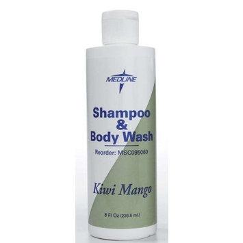 [Itm] Shampoo and Body Wash, 8 oz. [Acsry To]: SHAMPOO\BODYWASH, MEDLINE, 8 OZ, KIWI-MANGO : Bath And Shower Gels : Beauty