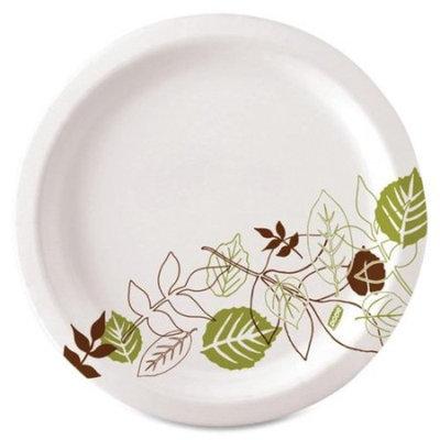 Dixie Pathways Mediumweight Paper Plates, Wisesize, 125/Pack