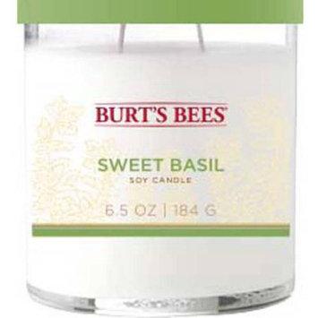 Mvp Group International Inc. Burt's Bees 6.5 oz Sweet Basil Candle