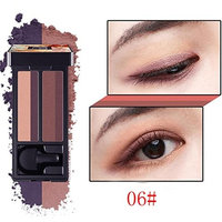 Eyeshadow Stamp Pallets for Girls Womens Teens, Iuhan 4 colors Stamp Eyeshadow Palette Makeup Kit Eye Color Palette Makeup Palette Matte Shimmer Highly Pigmented Professional Cosmetic