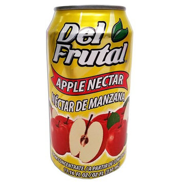 Del Frutal Apple Nectar 11.16 oz (Pack of 6)