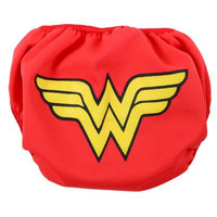 Bumkins DC Comics Swim Diaper, Wonder Woman Icon, Small