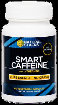 Natural Stacks - Smart Caffeine - 60 Vegetarian Capsules