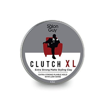 TheSalonGuy CLUTCH XL Extreme Hold Matte Hair Clay 3.5 oz