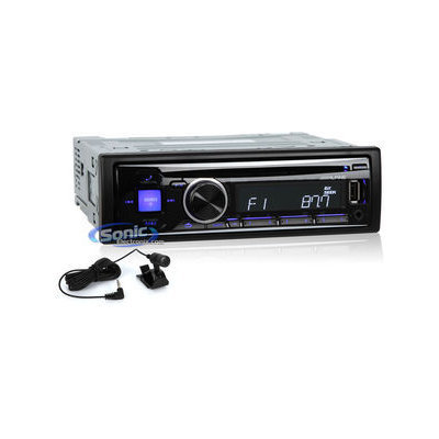 Alpine - Cd - Built-in Bluetooth - Car Stereo Receiver - Black