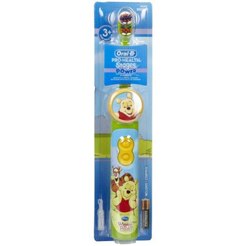 Oral-b Electronic Toothbrush for Kids, Winnie the Pooh Oral B Power Stages by YadaShop