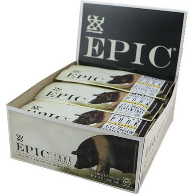Epic Bar Bars Pulled Pork Al Pastor Pineapple, 12 Pack - Men's