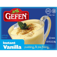 Gefen Instant Pudding, Vanilla, 3.5 Oz (Case of 24)