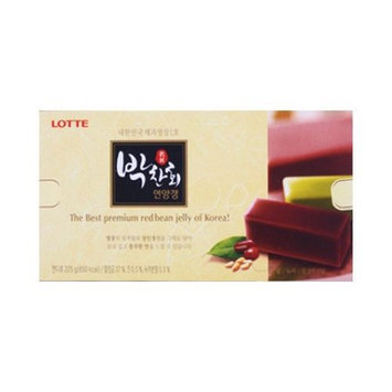 LOTTE PARK CHAN HWI Red Bean Jelly 225g
