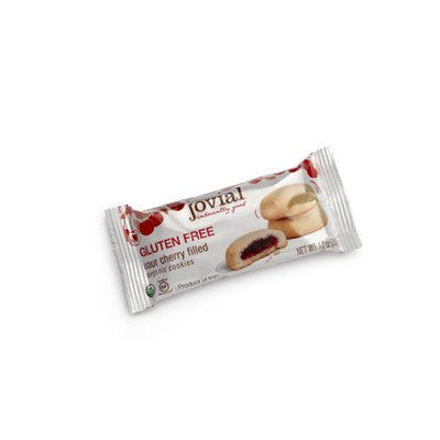 Jovial Organic Fruit Filled Cookies Gluten Free Sour Cherry 7 oz