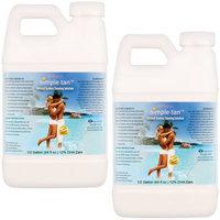 Gallon Belloccio Simple Tan 12% DHA Dark Sunless Airbrush Spray Tanning Solution